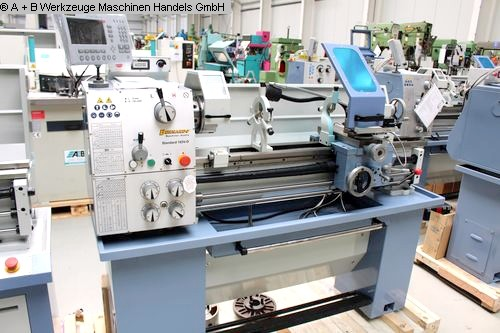 gebrauchte  Drehmaschine-konventionell-elektronisch BERNARDO Standard 165 V-D