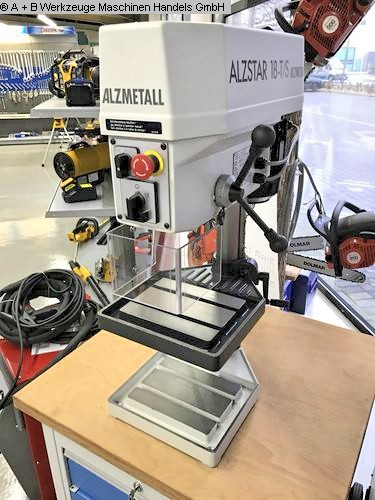 used  Bench Drilling Machine ALZMETALL ALZSTAR 18-T/S