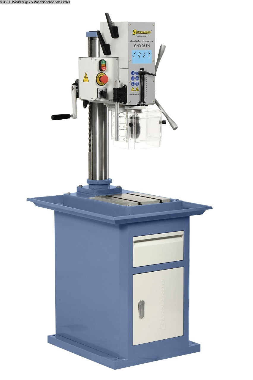used  Bench Drilling Machine BERNARDO GHD 25 TN