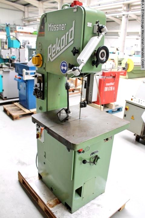 used Saws Band Saw - Vertical MOESSNER SM 420 / A