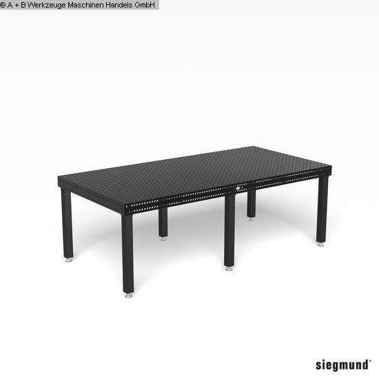 Autres accessoires pour machines-outils d'occasion Table de serrage SIEGMUND 16, PROF 750 2400x1200 - SET 3