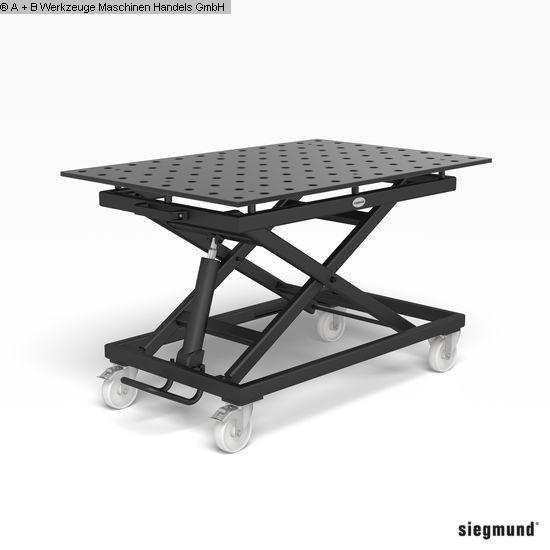 Autres accessoires pour machines-outils d'occasion Table de serrage SIEGMUND MOBILER HUBTISCH 28er