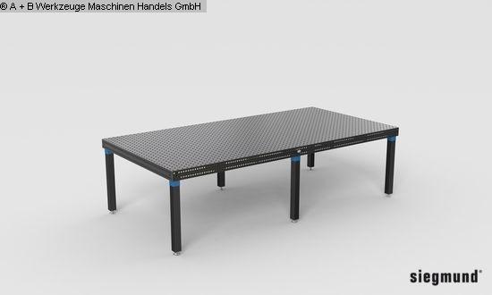 Autres accessoires pour machines-outils d'occasion Table de serrage SIEGMUND 16, PROFESSIONAL 750 3000x1500