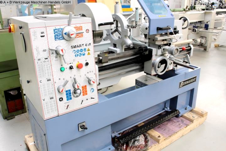 gebrauchte Drehmaschinen Drehmaschine-konventionell-elektronisch BERNARDO SMART 410-1000 Digital
