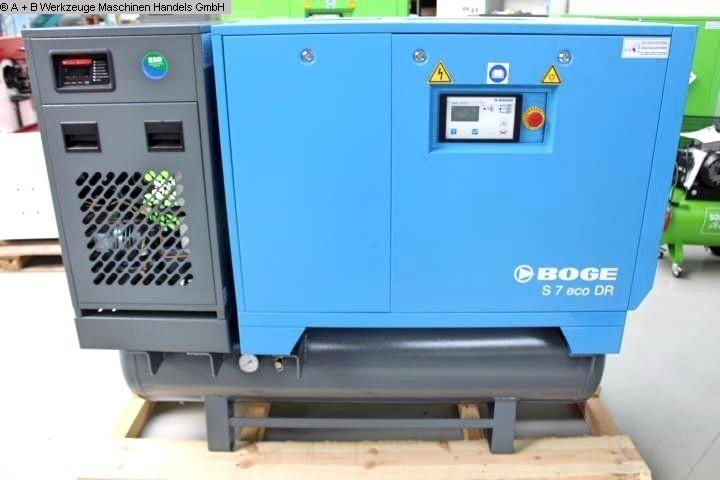 gebrauchte Kompressor BOGE S5 ECO DR - 10 bar
