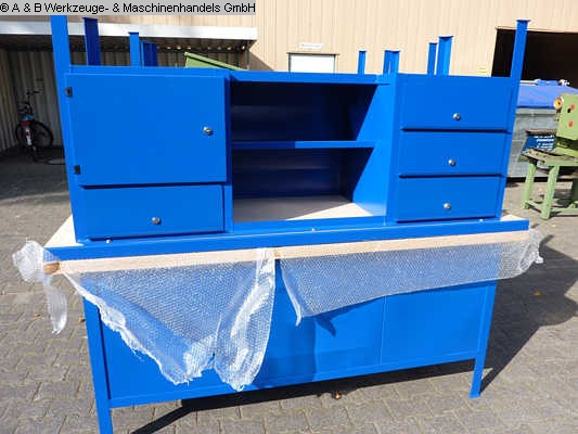 used Cupboard with drawers INDUSTRIEWERKBANK Mod. 2000