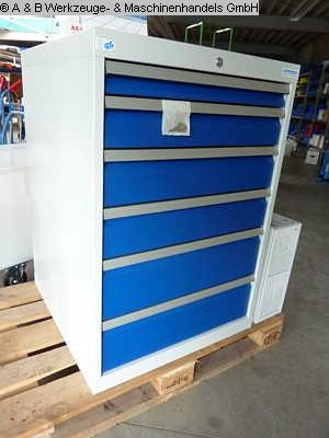gebrauchte Innerbetrieblicher Transport, Betriebs- u. Lagereinrichtung Schubladenschrank B + H 700/1122 A