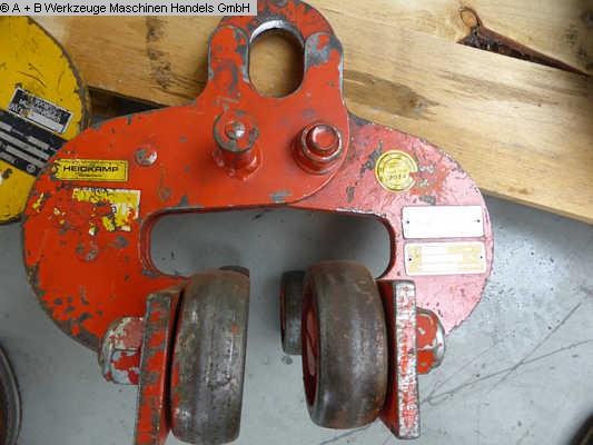 diğer ekleri ikinci el araç Zincirli vinç - Manual HADEF 2.000