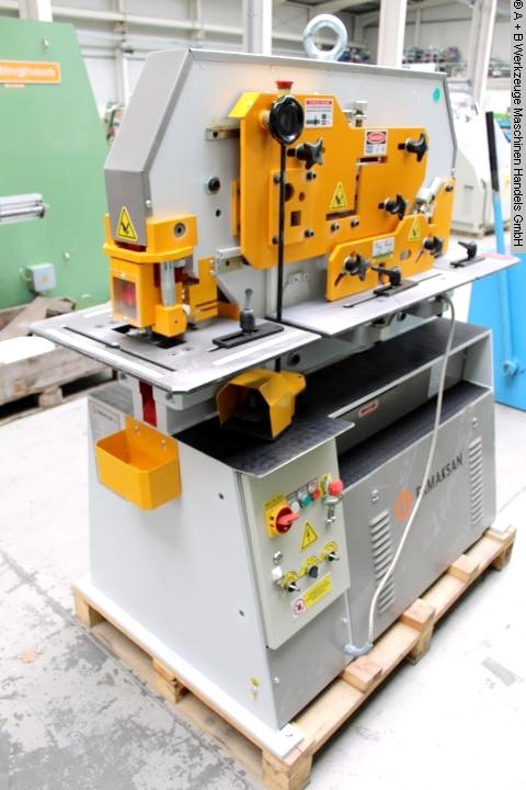 gebrauchte Blechbearbeitung / Scheren / Biegen / Richten Profilstahlschere ERMAK EKM 60 TN