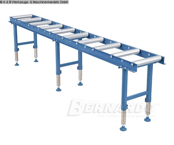 gebrauchte Sägen Rollenbahnen / Anschlag-Systeme A + B RB 10 - 3000 Zufuhr