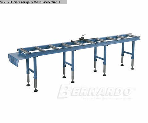 production de fenêtres occasion: convoyeur à rouleaux en bois A + B RB 3000 Abfuhr