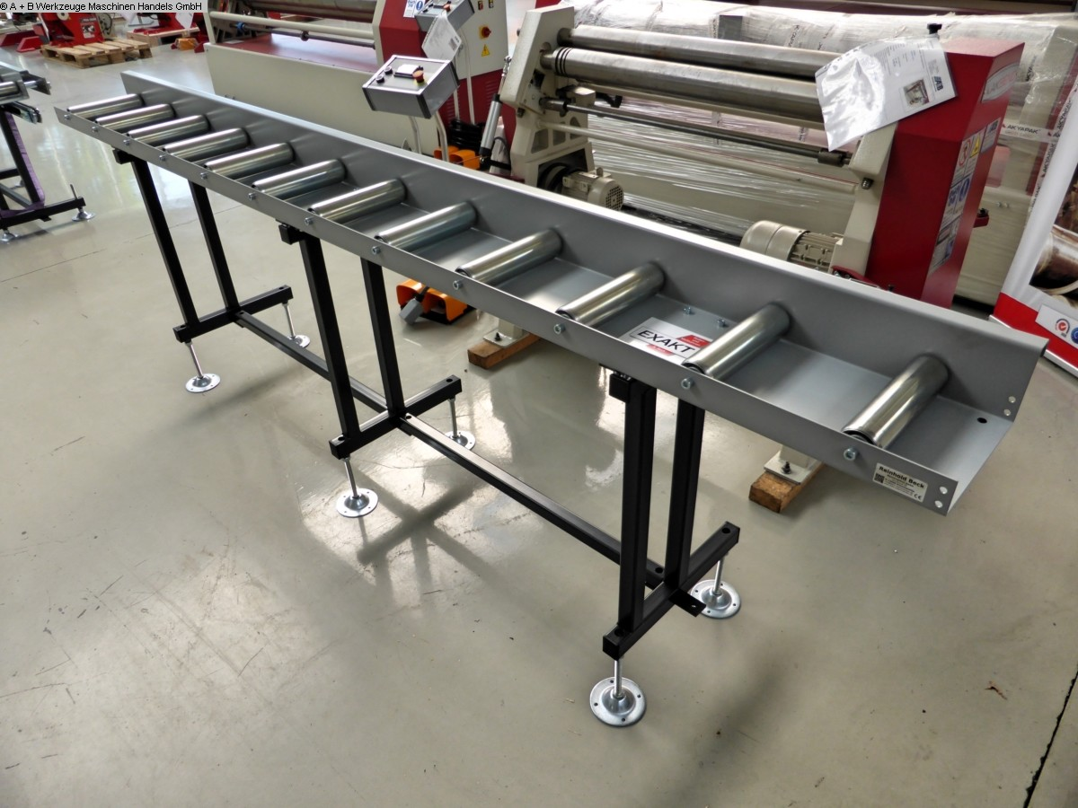 used Window production: wood Roller conveyer EXACT-C Standard Mod.C-Zufuhr