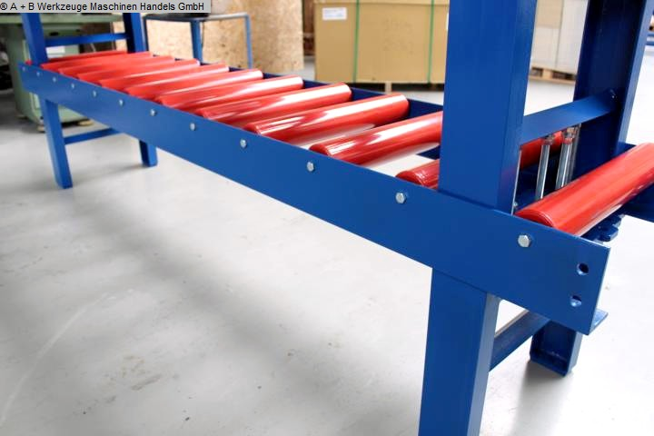 sierras de cadenas / sistemas de parada de rodillos usados FALKEN RB 3000x600
