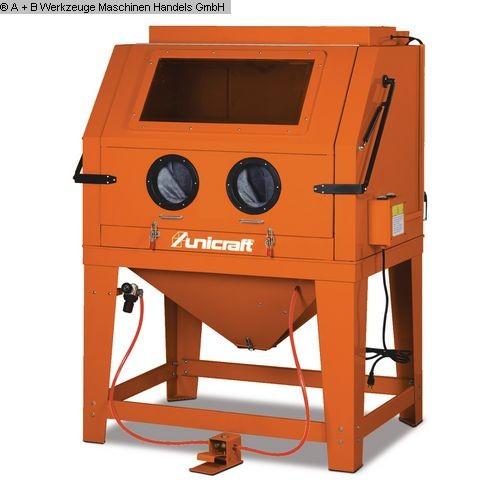 gebrauchte verschiedene Einrichtungen Sandstrahlanlage UNICRAFT SSK 4