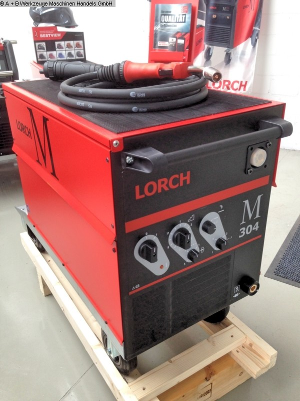 used Welding machines Welding Unit LORCH MIG MAG M 304 *SET*