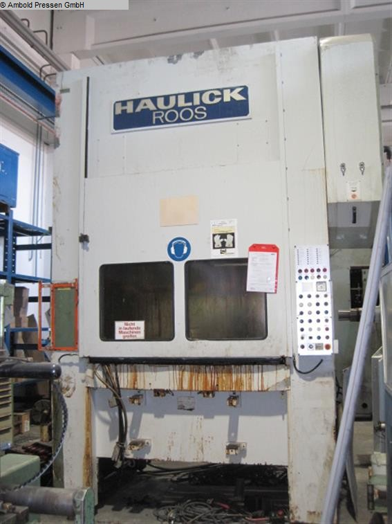 used  Eccentric Press - Double Column HAULICK & ROOS RVD 160-1600