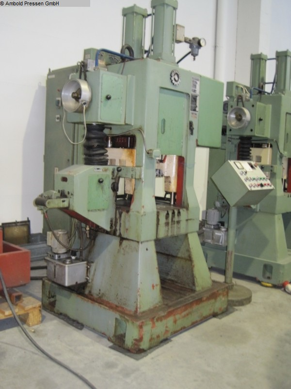 used  Eccentric Press - Double Column JELSINGRAD BPA 15