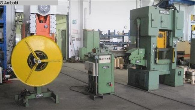used  Eccentric Press - Double Column MOSSINI PDM/V/40