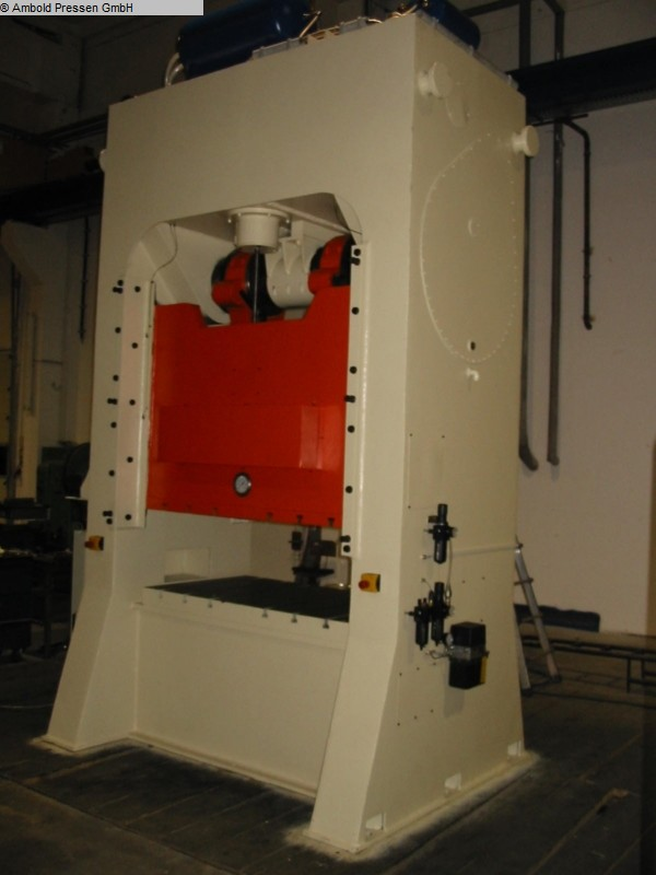 used  Eccentric Press - Double Column RICHTER PED 160