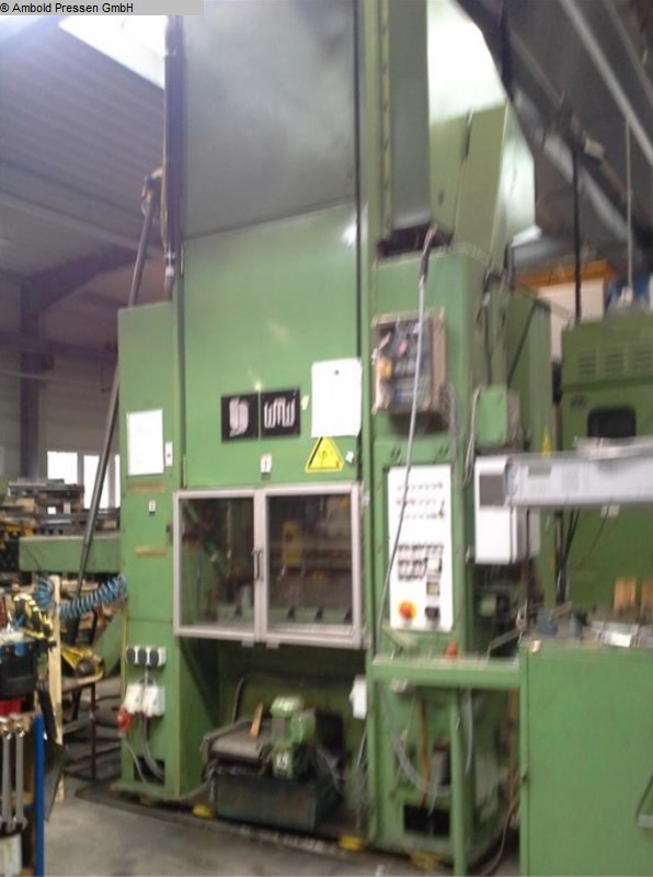 used  Eccentric Press - Double Column VEB Blema Gotha PEZ 160 KS