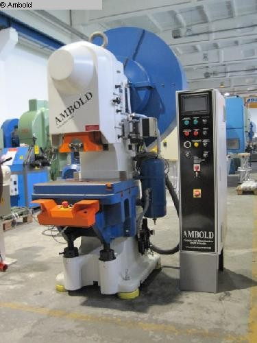 used  Eccentric Press - Single Column AMBOLD PEEV 55.3