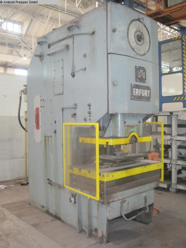 used  Eccentric Press - Single Column WMW PEE 160 III