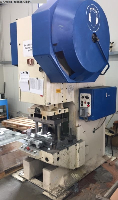 used  Eccentric Press - Single Column ZEULENRODA PEDV 63