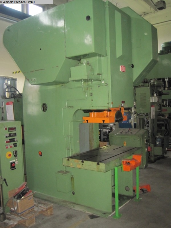 used  Eccentric Press - Single Column ZEULENRODA PED 100/3