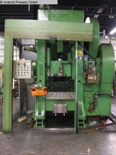 used  double-sided high speed press RUHRMANN DVR 200