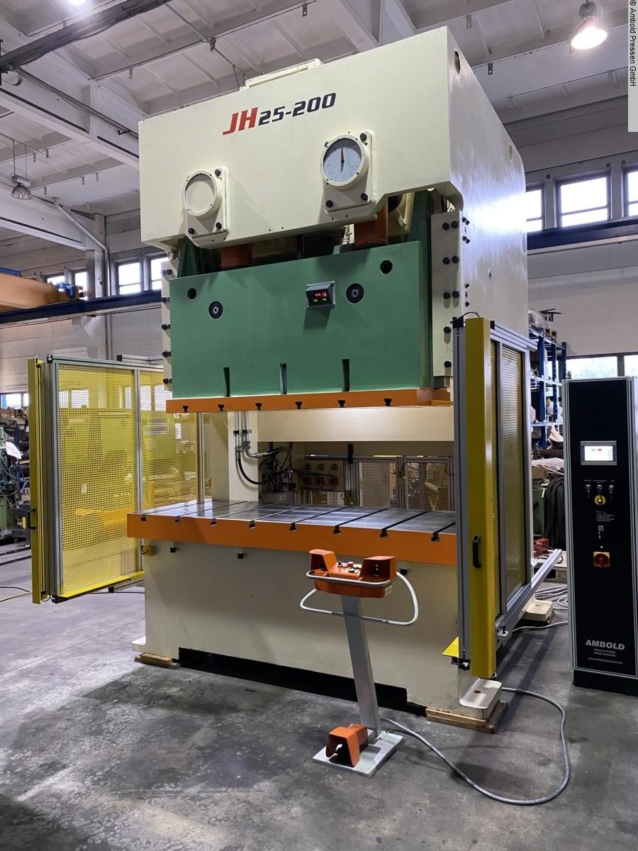 used Presses Eccentric Press - Double Column AMBOLD JH25 - 200