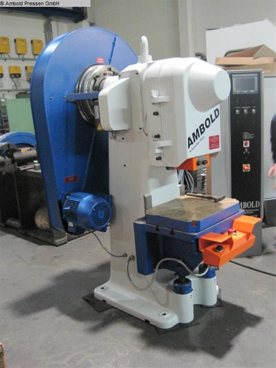 used Presses Eccentric Press - Single Column AMBOLD PEEV 25.2
