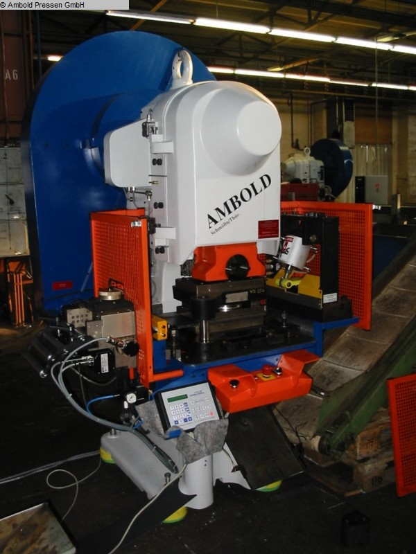 used Presses Eccentric Press - Single Column AMBOLD PEEV 55.3 WV