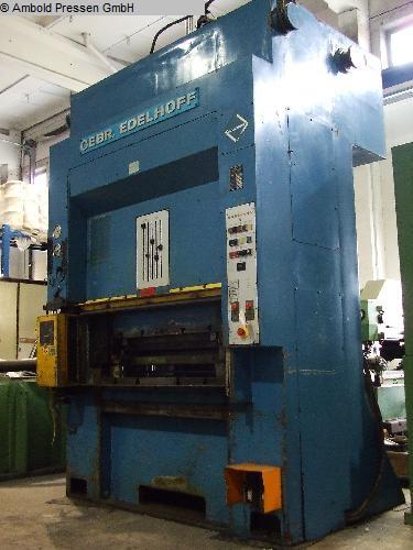 gebrauchte Pressen und Bördelmaschinen Doppelständerpresse - Hydraulisch EDELHOFF HZP 100
