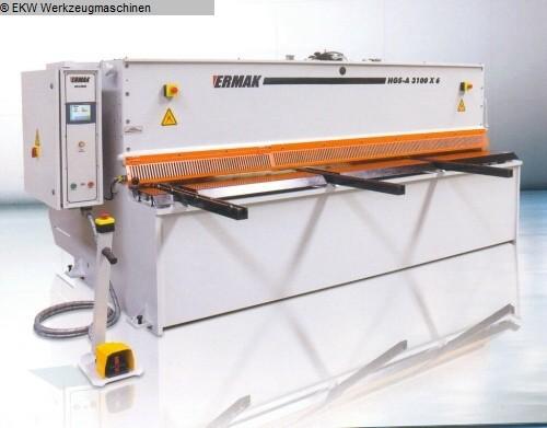 used Plate Shear - Hydraulic ERMAK HGS-A 3100-6