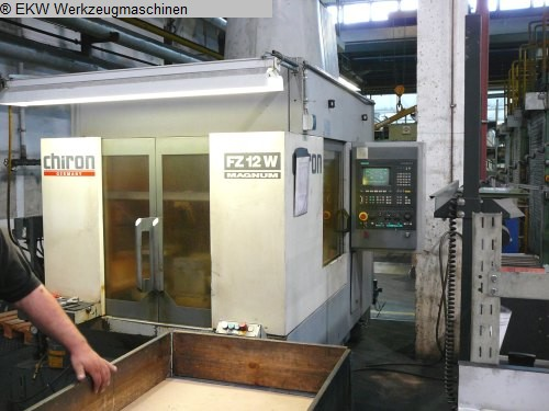 used Machining Center - Vertical CHIRON FZ 12 W Magnum