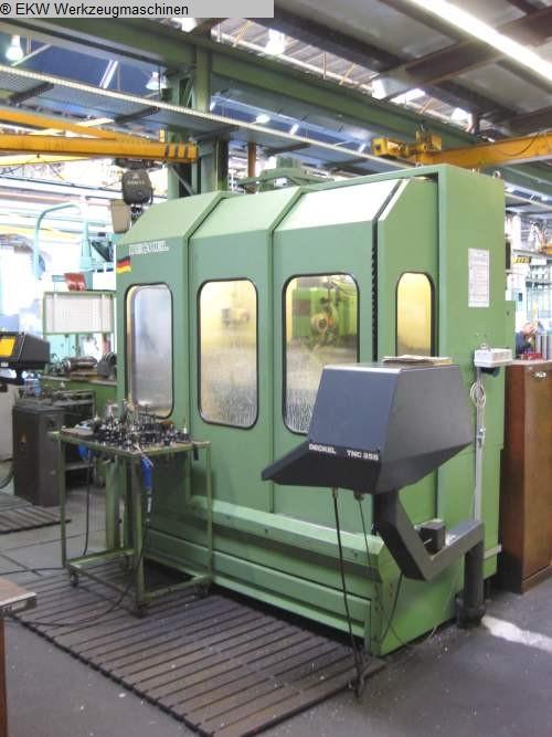 gebrauchte  Werkzeugfräsmaschine - Universal DECKEL FP 4 NC