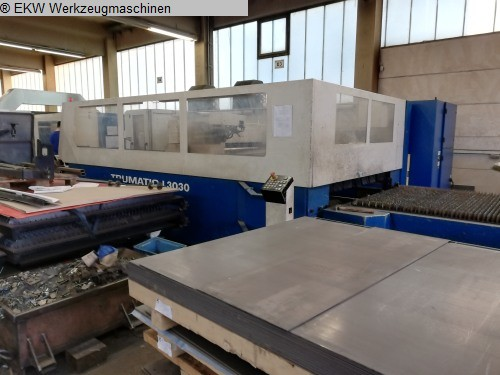 used  Laser Cutting Machine TRUMPF TC L 3030