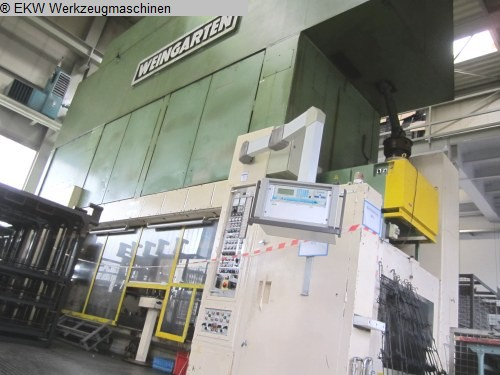 used  Multiple-Die Press WEINGARTEN S 520.08.55.1