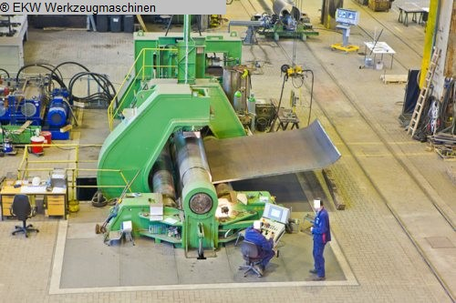 used  Plate Bending Machine - 4 Rolls SCHÄFER retrofit 2013