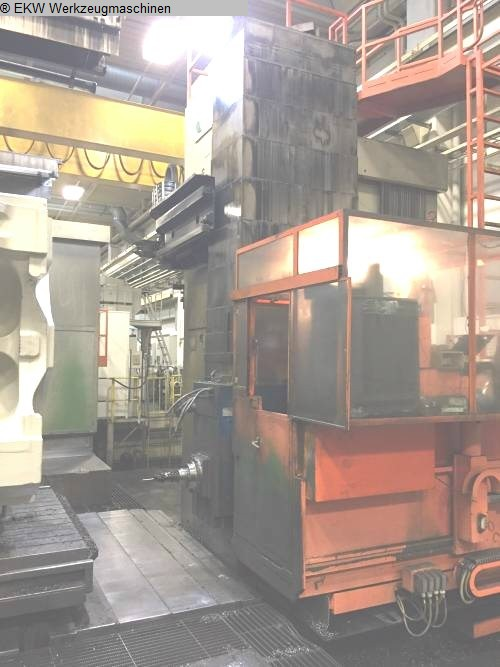 used  Ram-Type Floor Boring and Milling M/C DOERRIES-SCHARMANN HEAVYCUT 2.2 TDV 5