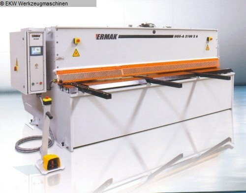 used Sheet metal working / shaeres / bending Plate Shear - Hydraulic ERMAK HGS-A 3100-6