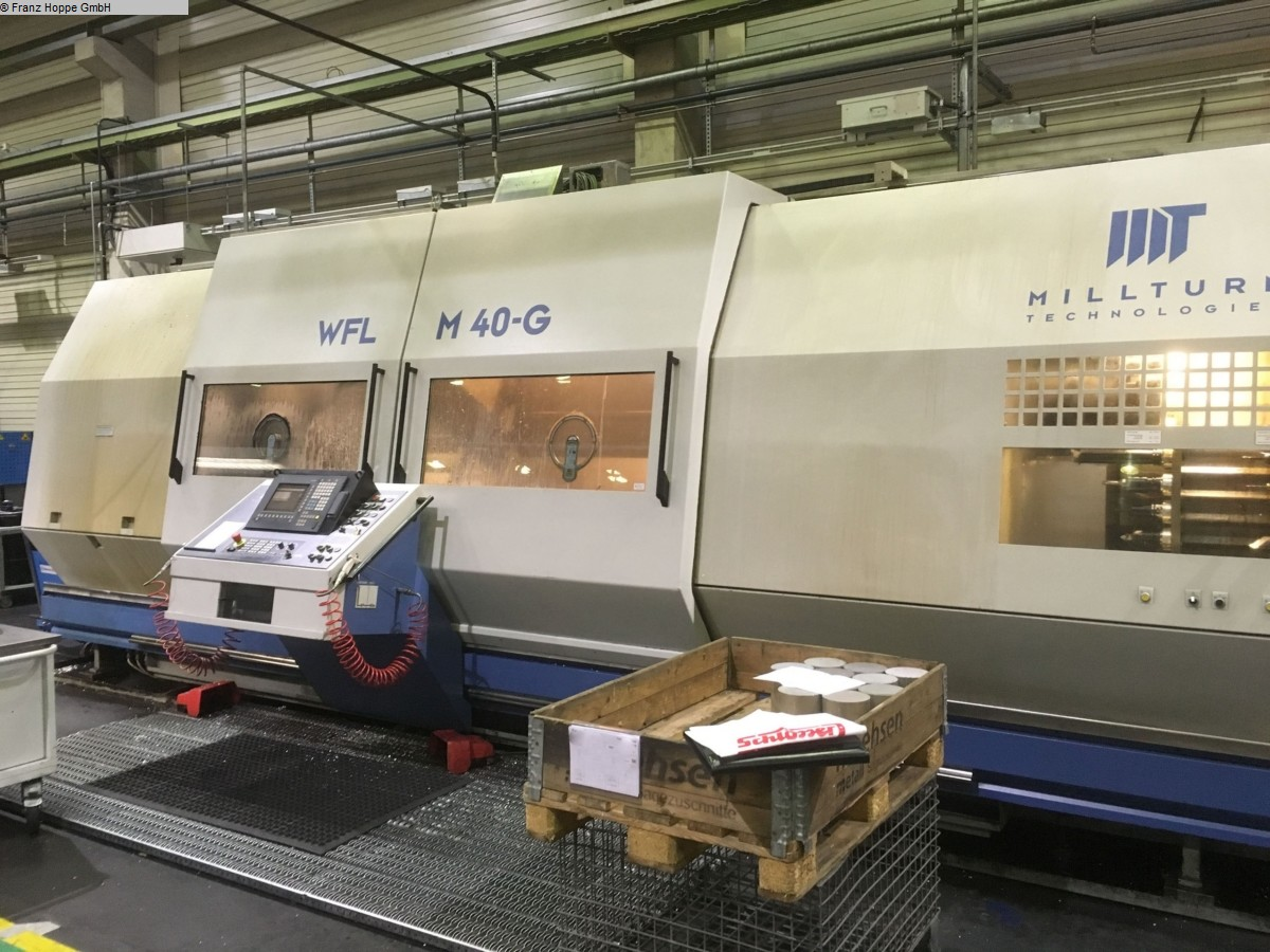 used CNC Turning- and Milling Center WFL M 40-G/3000