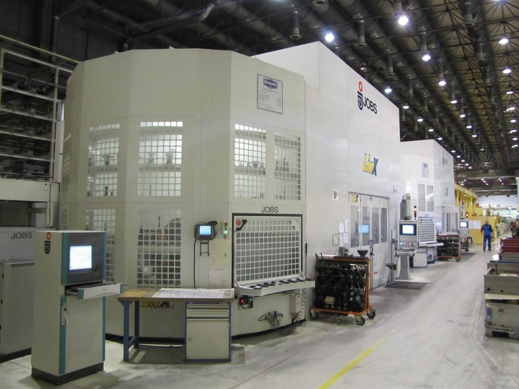 used Machining Center - (2 Columns) JOBS LINX Compact 35