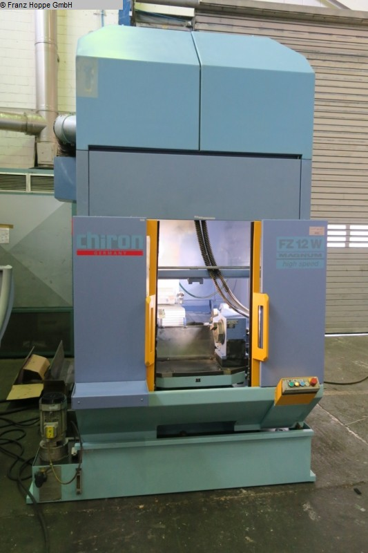 used milling machining centers - vertical CHIRON FZ 12 W MAGNUM high-speed