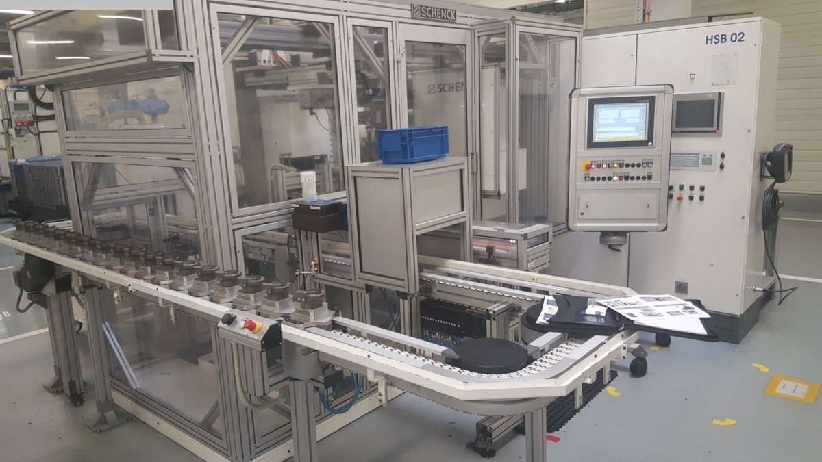 máquina de equilibrado de máquinas usadas SCHENCK 210 FBTS