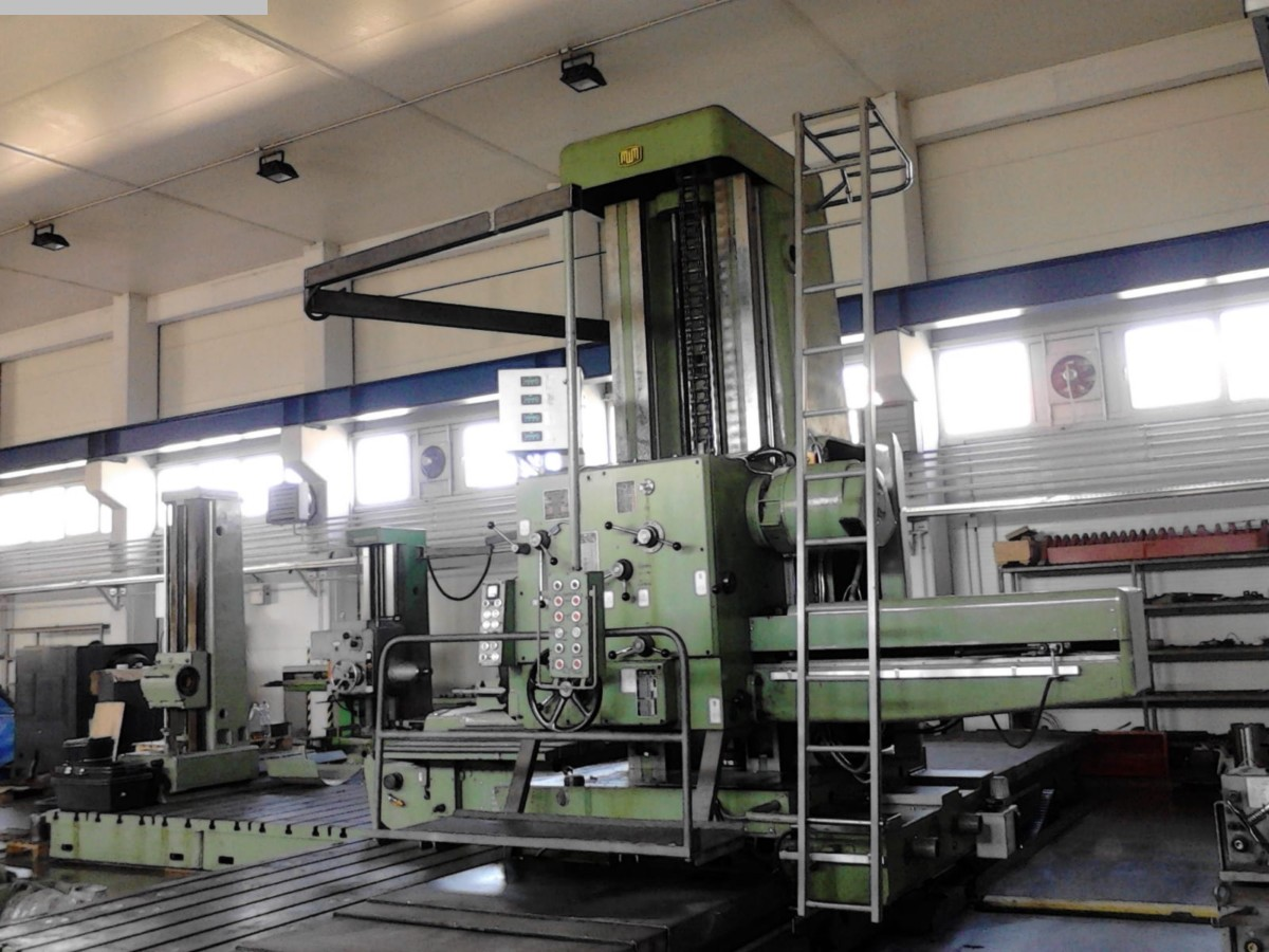 used Boring mills / Machining Centers / Drilling machines Floor Type Boring and Milling M/C - Hor. UNION BFP 125