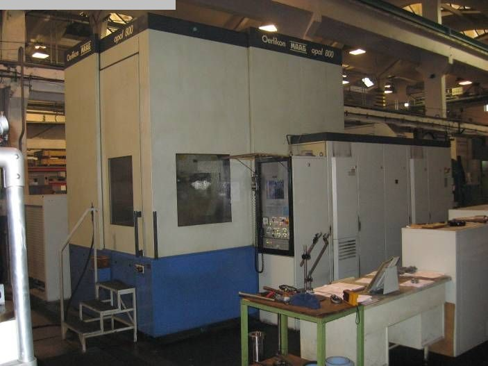 used Gear cutting machines Gear Grinding Machine OERLIKON-MAAG Opal 800 CNC