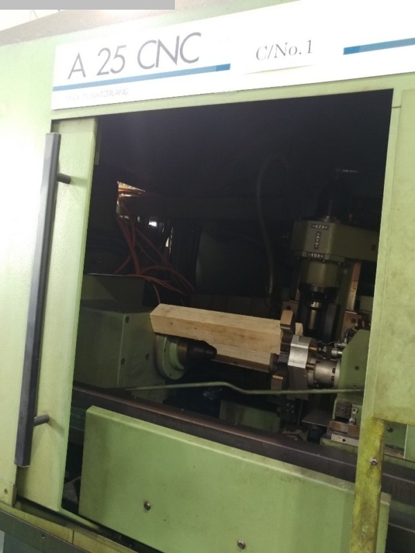 used Gear cutting machines Gear Hobbing Machine - Horizontal MIKRON A 25 CNC