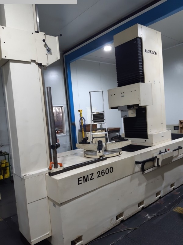 used Gear cutting machines Gear Testing Machine HOEFLER EMZ 2600