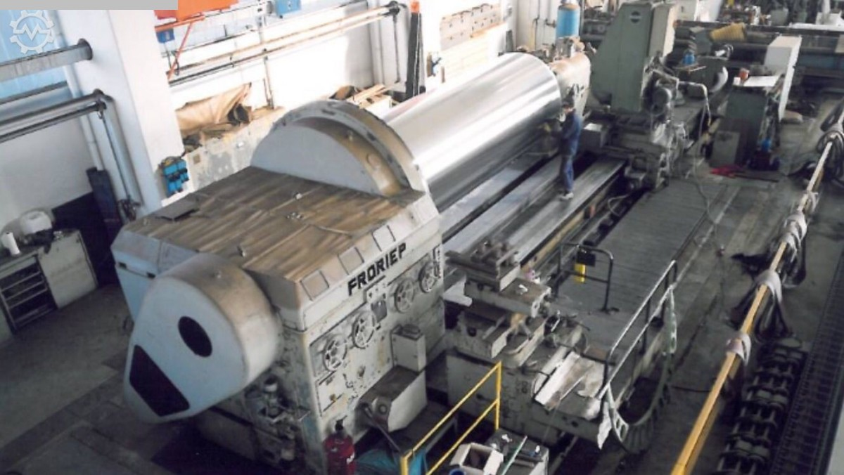 used Lathes Heavy Duty Lathe FRORIEP SS 60 x 13000